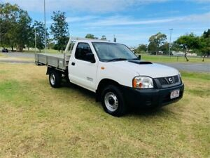 2011 Nissan Navara D22 Series 5 DX (4x2) White 5 Speed Manual Cab Chassis Southport Gold Coast City Preview