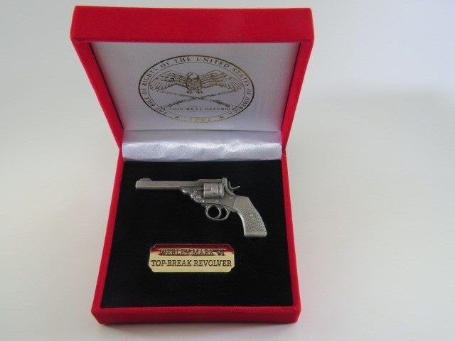 Webley Mark VIrevolver miniature replica