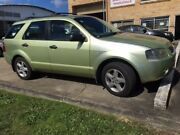 2004 Ford Territory SX TX RWD Green 4 Speed Automatic Wagon Kingston Logan Area Preview