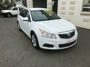 2013 Holden Cruze JH MY13 CD Equipe White 6 Speed Automatic Sedan Dubbo Dubbo Area Preview