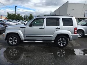 2008 Jeep Liberty Sport with Moonroof and Power Windows
