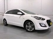 2015 Hyundai i30 GDE3 Series 2 Tourer 1.6 GDI White 7 Speed Auto Dual Clutch Wagon Windsor Hawkesbury Area Preview