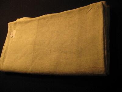 93-11 / Ein sehr grosses Leinen-Laken von Hand gewebt mit Mittelnaht