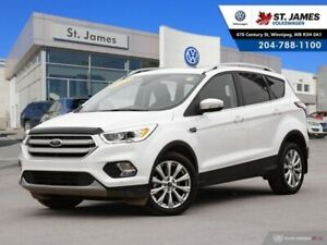 2018 Ford Escape Titanium 4WD, LEATHER, SUNROOF, REAR VIEW CAMER