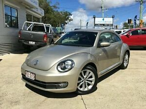 2012 Volkswagen Beetle 1L MY13 Coupe DSG Silver Semi Auto Liftback Surfers Paradise Gold Coast City Preview