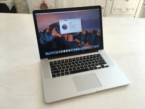 i7 Core 16GB 3.7Ghz Turbo Macbook Pro Retina Radeon R9 370X