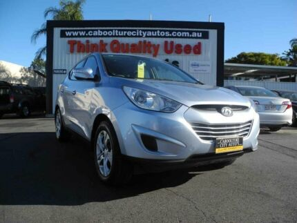 2010 Hyundai ix35 LM Active Blue 6 Speed Auto Seq Sportshift Wagon Caboolture South Caboolture Area Preview