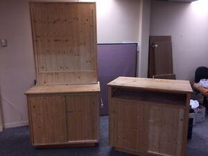 meuble pour kiosque vente / exposition