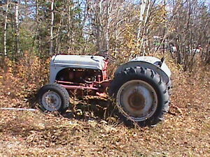 8 N Ford Tractor