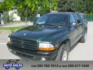 2000 Dodge Dakota sport quad cab 4x4 1 owner no accident!