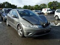 HONDA CIVIC 2008 BREAKING FOR SPARES TEL 07814971951 HAVE FEW IN STOCK