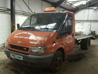 2003 Ford Transit Recovery Truck Perfect runner 1 year mot.