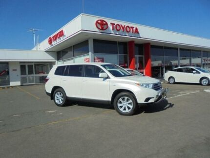 2012 Toyota Kluger GSU45R MY11 Upgrade KX-R (4x4) 7 Seat Crystal Pearl 5 Speed Automatic Wagon Belmore Canterbury Area Preview