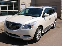 2014 Buick Enclave Premium AWD EVERY OPTION WHITE DIAMOND $0 DOW