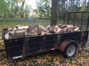 Perfectly seasoned pine and spruce firewood for sale!