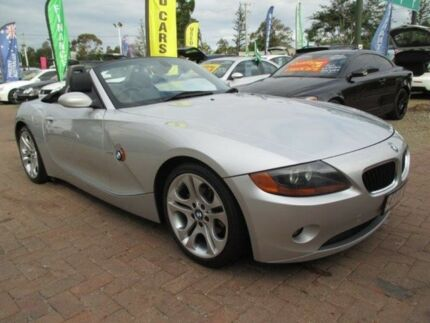 2004 BMW Z4 E85 Steptronic Silver 5 Speed Sports Automatic Roadster Bundall Gold Coast City Preview