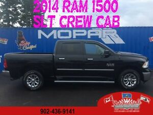2014 RAM 1500 SLT CREW CAB, HEATED SEATS LOW LOW KMS
