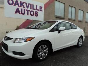 2012 Honda Civic COUPE LX AUTOMATIC BLUETOOTH SAFETY INCL