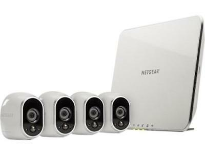 NETGEAR Arlo Savvy Home Security Camera System - 4 HD, 100% Wire-Free, Indoor /
