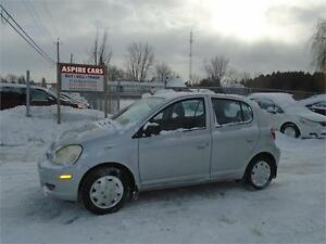 """2005 Toyota Echo """"LE""""-ONLY 69,980 KM-DEALER SERVICED-RARE FIND!"""