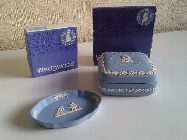 Wedgwood Jasper. Pale Blue.