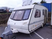 Abbey 416 GTS 4 berth inc awning and motor mover.