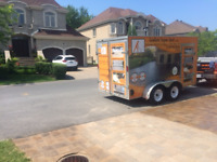 SABLE POLYMERE ET SCELLANT PAVE UNI / PAVER CLEANING AND SEALING