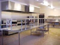 Commercial kitchen space for rent (fully equipped) (shared)