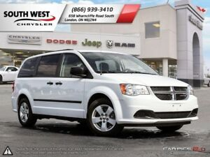 2014 Dodge Grand Caravan | SE | MultiZone A/C | Cruise Control
