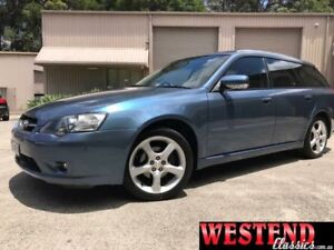 2004 Subaru Liberty B4 Safety Pack Blue Sports Automatic Wagon Lisarow Gosford Area Preview
