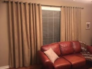 Custom Made Drape Panels