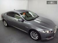 JAGUAR XF D PREMIUM LUXURY SALOON, Grey, Auto, Diesel, 2013