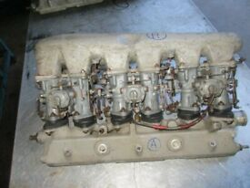 Carburetors with manifold Alfa Romeo 2600 Coupè