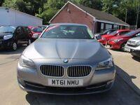 BMW 5 SERIES 2.0 520D SE 4d 181 BHP (grey) 2011