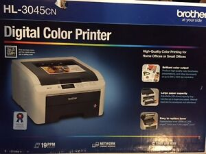 Brother HL-3045cn Color Printer, New In Box