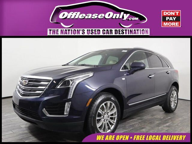 Off Lease Only 2017 Cadillac XT5 Luxury FWD Gas V6 3.6L/222.6