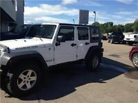 2010 Jeep Wrangler Unlimited Rubicon - Low kms - Low Payments