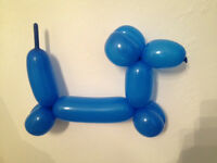 Fun and creative balloon modeller for childrens parties