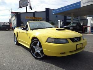 2003 Ford Mustang CONVERTIBLE, LOW KM, CLEAN CAR PROOF!!