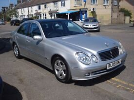 Mercedes-Benz E CLASS 3.2 E320 TD CDI Avantgarde 4dr, 2005 model, Full MOT, FSH, Full Leather