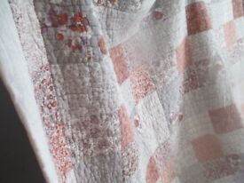 Rustic Next Quilted Patchwork Bed Cover Single