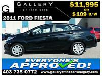 2011 Ford Fiesta S $109 bi-weekly APPLY NOW DRIVE NOW