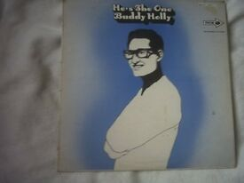 Vinyl LP He's The One – Buddy Holly