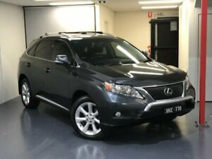 2009 Lexus RX350 GGL15R Sports Luxury Grey 6 Speed Sports Automatic Wagon Mill Park Whittlesea Area Preview