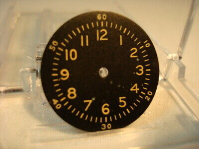 Vintage WW2 era c.1940's Military Waltham A-11 Wrist Watch Dial – Exc. Condition