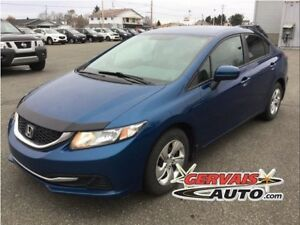 Honda Civic LX A/C Bluetooth 2014