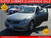 2005 Infiniti G35 Sedan x AWD with Sunroof, Leather - APPLY HERE Windsor Region Ontario Preview