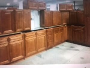 JUST IN !!   VERY LAST SETS OF ALL WOOD CUPBOARDS ! BRAND NEW !!
