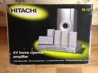 Hitachi - 5 in 1 Home Theater - Sound System - Excellent