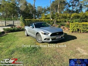 2017 Ford Mustang FM 2017MY GT SelectShift Silver 6 Speed Sports Automatic Convertible Capalaba Brisbane South East Preview